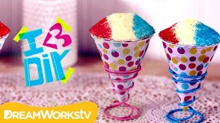 Snow Cone Cupcakes with SweetEmelyne | I ♥ DIY