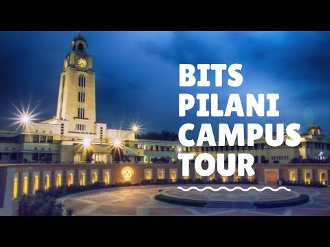 Life @ BITS Pilani || College Campus tour