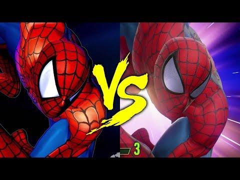 MVC3 vs MVCI - Spiderman