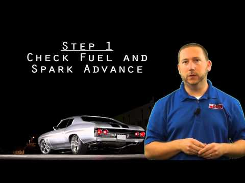 Knock - Is it real or false?  Save your engine from detonation!