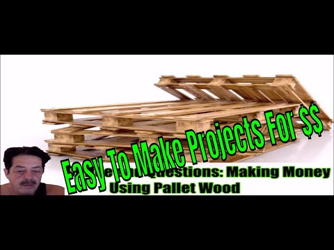 Top Rated Pallet Wood Project Ideas You Can Sell