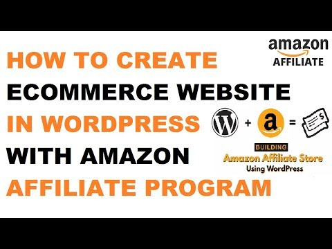 How To Make Ecommerce Website On AutoBlogging With Amazon Affiliated Program 2018, Get Free Domain
