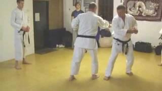 Tom Hill's Karate Dojo; Goju Kata Bunkai; Saifa; first move & other options