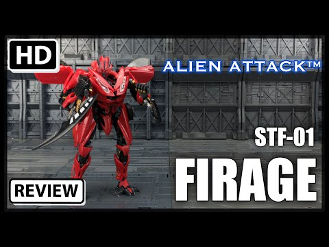 Alien Attack Toys STF-01 FIRAGE Transformers Dark Of The Moon Deluxe Mirage Dino