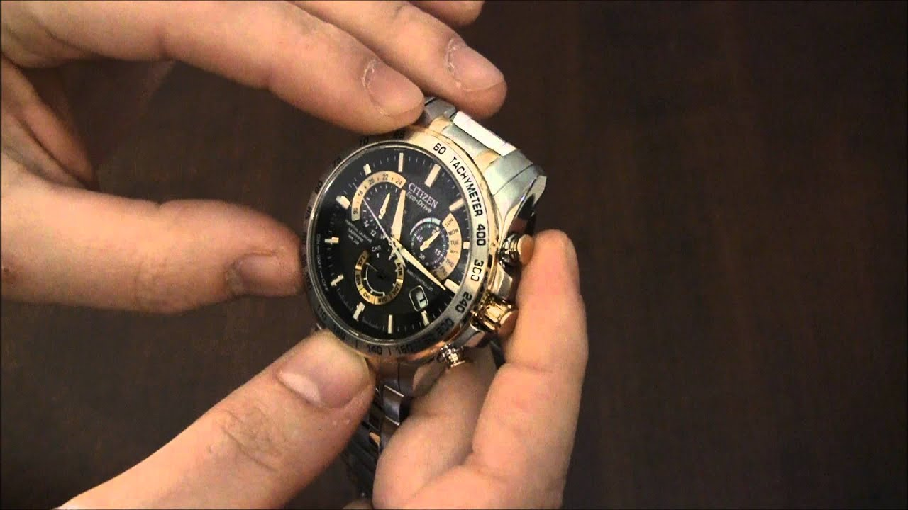 citizen eco drive perpetual chrono a u2022t watch review youtube rh youtube com Citizen Skyhawk Manual PDF Blue Angel Citizen Eco-Drive Instruction Manual