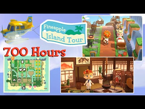 Almost 700 hours, No Time Travel! | Animal Crossing: New Horizons Island Tour #12 – Fineapple