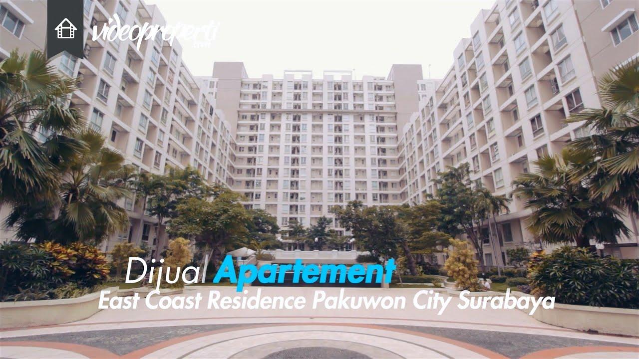 Apartemen Dijual East Coast Residence Pakuwon City Surabaya Youtube