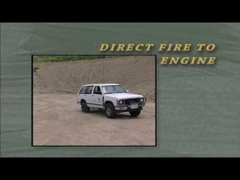 Firing at moving vehicles — Los Angeles County Sheriff's Department training video