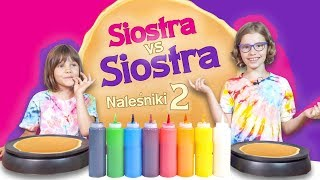 Malujemy Naleśniki 2 Pancake Art CHallenge Siostra Kontra Siostra 15