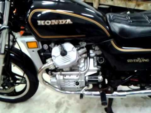 Honda Cx500 For Sale >> Honda GL500 Silverwing Standard for sale - YouTube