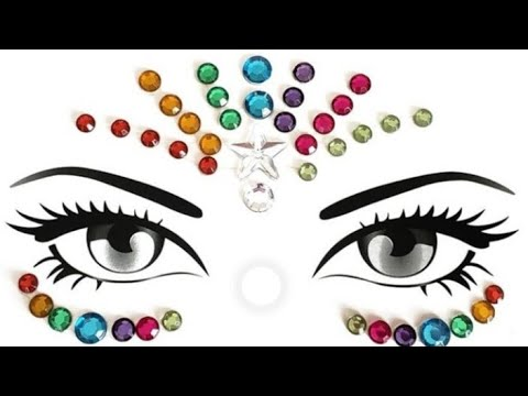 Glitters Amp Face Jewels Festival Glam Compilation Beauty Tips For Girls 2020 56