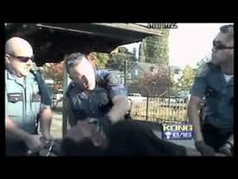 Police Brutality Compilation - Police brutality USA Seattle Police in Action USA Dash Cam