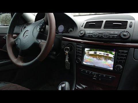 Штатная Android-магнитола для Mercedes-Benz E211
