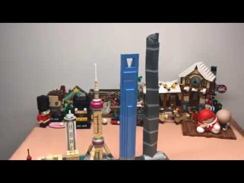 LEGO Speed Build: 2018 LEGO Architecture Shanghai Skyline Set 21039