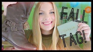 Favorite Fall Things Tag!!! 2014 🍂 Thumbnail