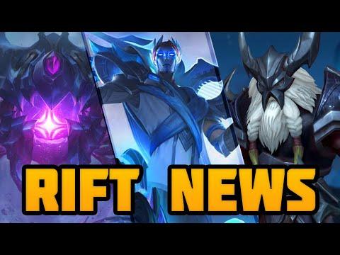 Rift News:  Lore Skins, 2020 Champions & Wild Rift Datamining