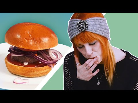 VEGETARIANS TRY MEAT FOR THE FIRST TIME