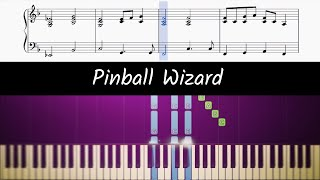 How to play piano part of Pinball Wizard by Elton John