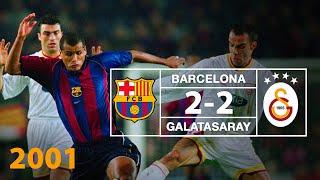 Nostalji Maçlar | Barcelona 2 - 2 Galatasaray ( 05.12.2001 )