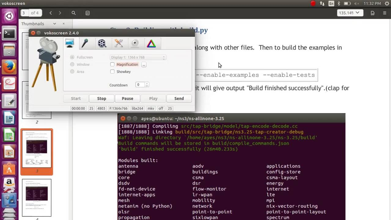 How to install ns-3 25 in ubuntu 16 04,14 04 - - vimore org