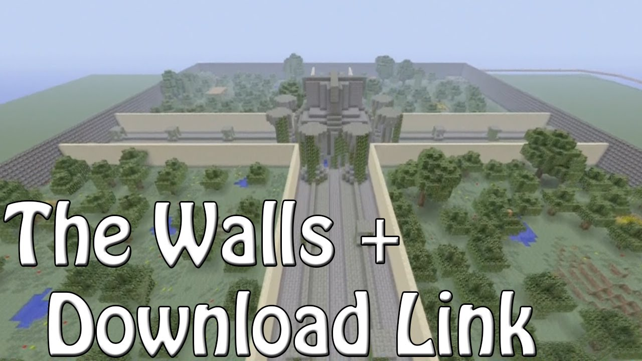 Minecraft Xbox 360 The Walls - PvP Map + Download Link - YouTube