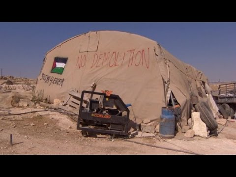 Palestinian village faces demolition by Israeli military