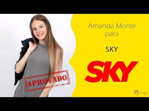 JOB:  Amanda Monte para SKY