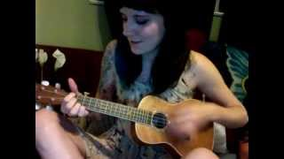 "New Girl theme song ""Hey Girl"" Ukulele Cover"