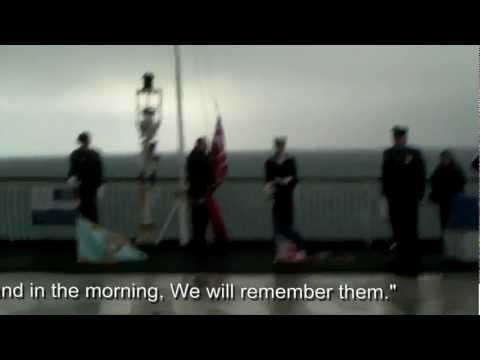 St Patrick Remembrance 2012