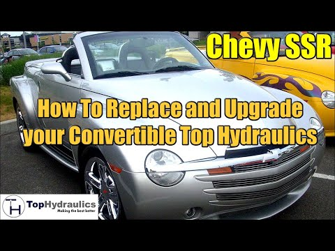 chevy ssr top hydraulic system replacement chapter 2 Starter Wiring for 2004 SSR