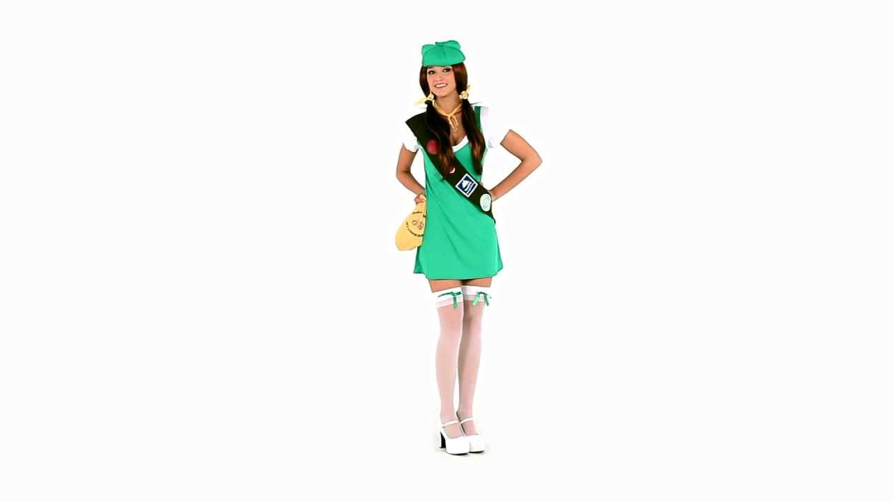 Sexy Girl Scout Costume - 360 View - Youtube-6692