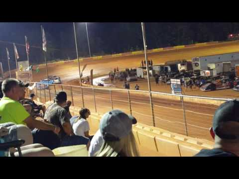 Carolina clash Jeff smith wins 2nd heat,entire race friendship speedway 9/10/16