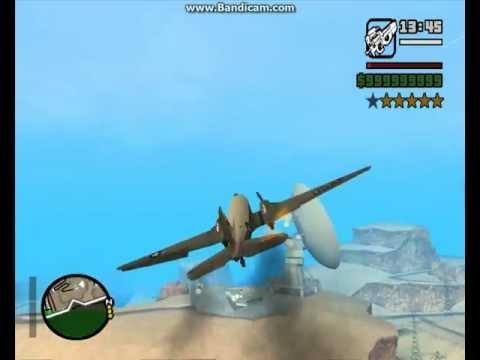 GTA San Andreas Nevada DC3 Verfolgungsjagd