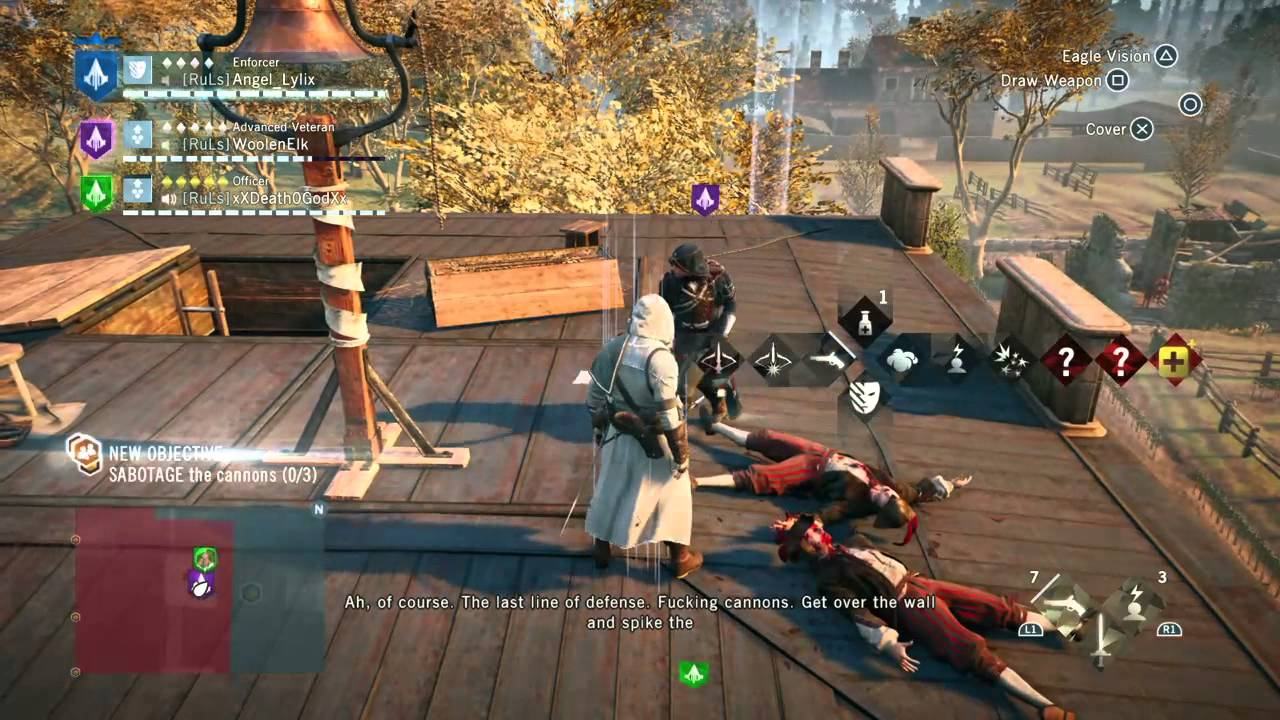 Assassin S Creed Unity Multiplayer Gameplay Part 3 Youtube