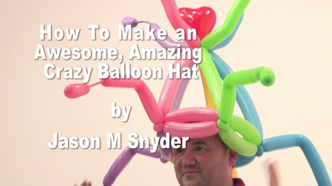 Crazy balloon animals - Awesome Crazy Fun Balloon Hat Balloon Animals Tutorial
