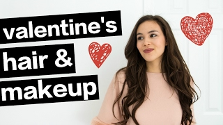 Valentine's Makeup & Hair | Luxy Hair Extensions