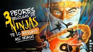 Las Peores Peliculas De Ninjas | #PelicuasAsiNomas