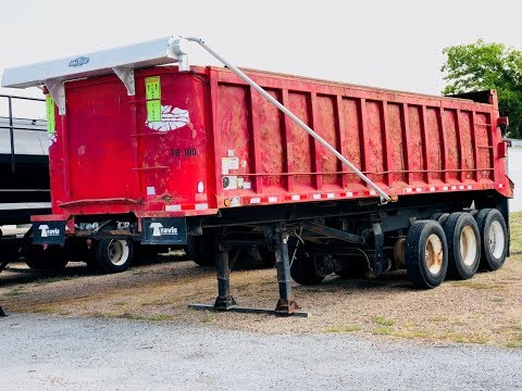 2006 Palmer 29x94x58 End Dump Trailer For Sale