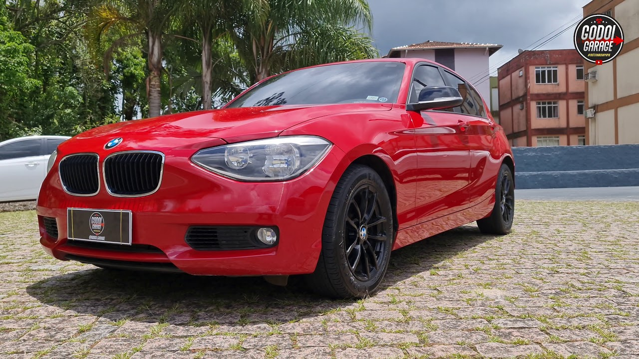 BMW 118i 2014 FULL 1.6 TURBO AUT. ECONÔMICA E COMPACTA! A VENDA.