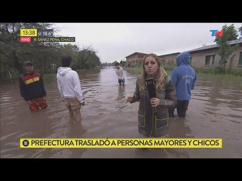 El drama de las inundaciones en Chaco