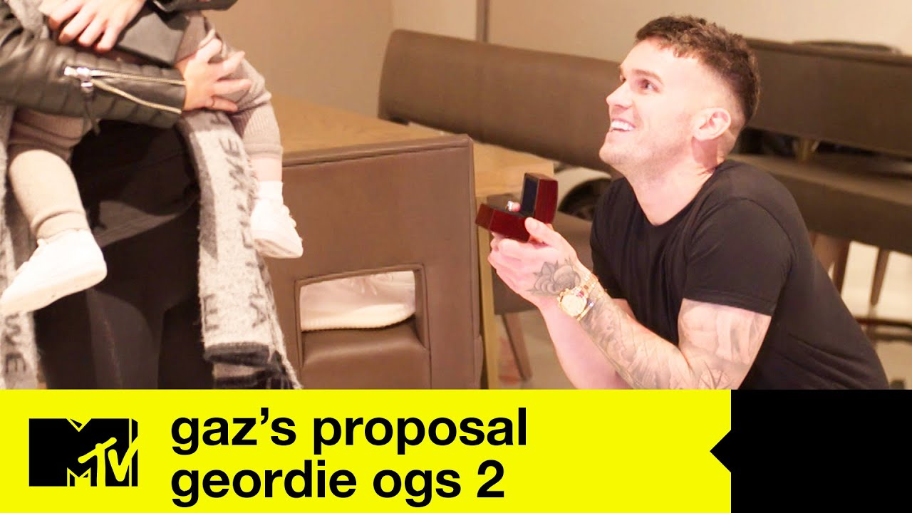 Gary Beadle And Emma Mcvey S Proposal Story Geordie Ogs 2 Youtube
