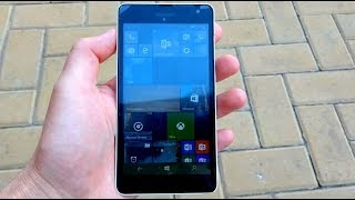 Microsoft Lumia 535 incoming call