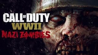 Call of Duty WW2 - NAZI ZOMBIES!!!! [ PC - Gameplay ]