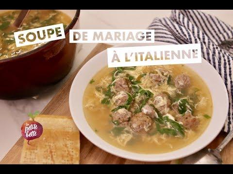 🍲soupe-de-mariage-À-l'italienne---minestra-maritata-🧀tuto-recette-réconfort