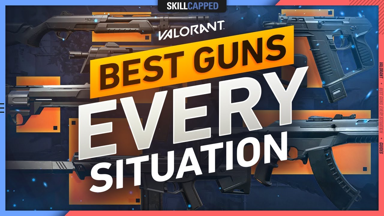 Download The BEST GUN for EVERY SITUATION in VALORANT!