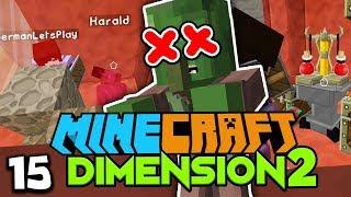 GLPs RÜSTUNG TÖTET HARALD :( ☆ Minecraft DIMENSION 2 #15
