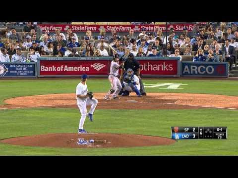 Giants vs. Dodgers  09.23.2014 [Full Game HD]