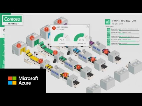 Azure Digital Twins demo | Creating replicas of real-world environments