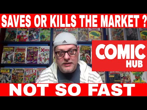 """Comic HUB """"Saves Direct Market"""" I DONT THINK SO, Possibly the opposite"""