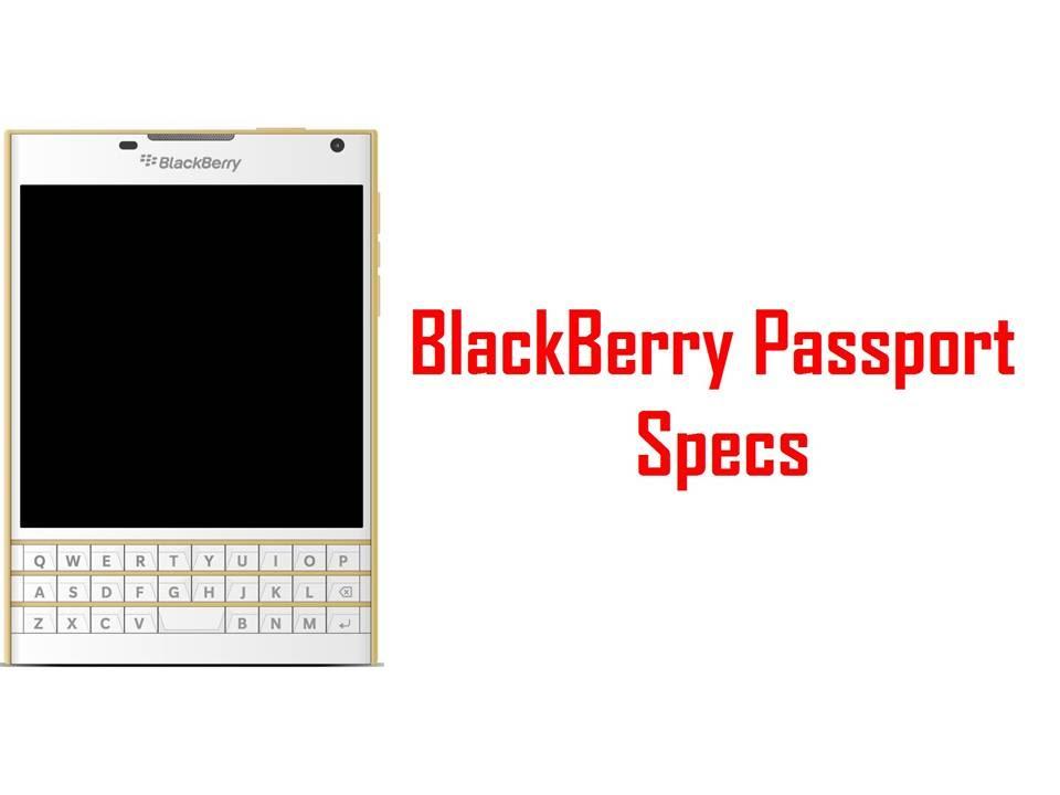 BlackBerry Passport Specs & Features - YouTube